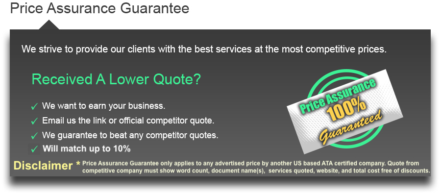 Price Assurance Guarantee